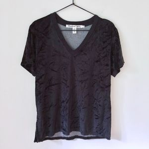 Anthropologie Michael Stars Vali Velvet Top